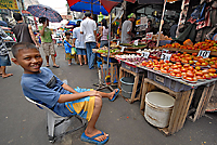 Manila Fruit Seller